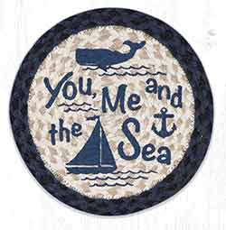 MSPR-79 You, Me and the Sea 10 inch Tablemat