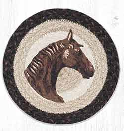 MSPR-9-115 Horse 10 inch Tablemat