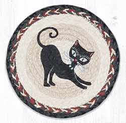 Crazy Cat Blue Beads 10 inch Tablemat