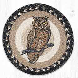 Owl 10 inch Tablemat