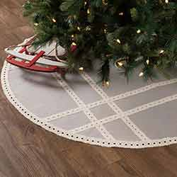 Margot Grey 55 inch Tree Skirt