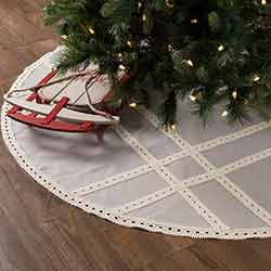 Margot Grey 60 inch Tree Skirt