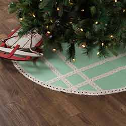 Margot Mint 48 inch Tree Skirt