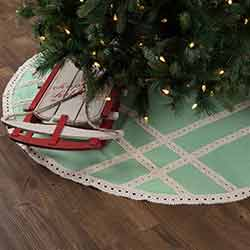 Margot Mint 55 inch Tree Skirt