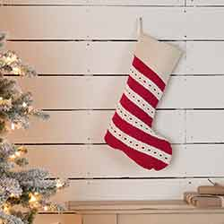 Margot Red 20 inch Stocking