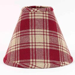 Millbrook Red Lamp Shade (Multiple Size Options)