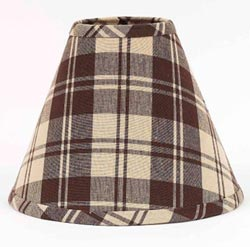 Millville Check Lamp Shade