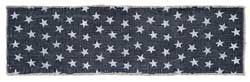 Multi Star Navy Tablerunner, 48 inch