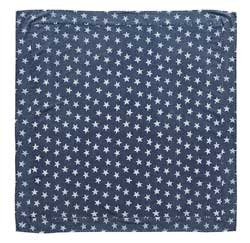 Multi Star Navy Tabletopper/Tablecloth - 40 x 40
