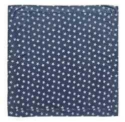 Multi Star Navy Tabletopper/Tablecloth - 40 x 40