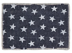 Multi Star Navy Placemats, Set of 2