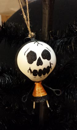Halloween Skeleton Ornament