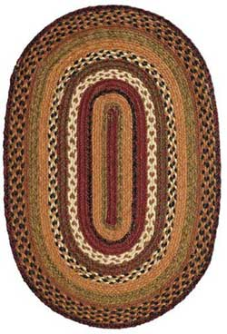 Napa Valley Jute Rug - Oval (Multiple Size Options)