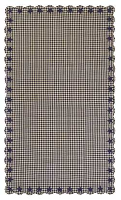 Navy Star Tablecloth - 60 x 102 inch