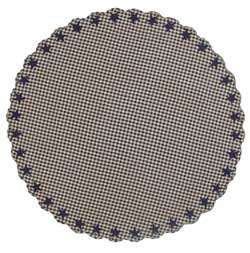 Navy Star Round Tablecloth (70 inch)