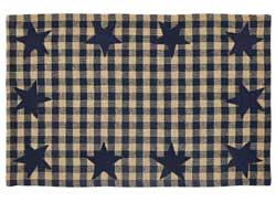 Navy Star Placemats (Set of 2)