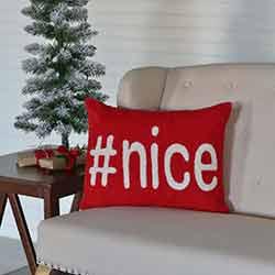 Nice Pillow (14x18)