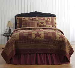Ninepatch Star Quilt - Luxury King