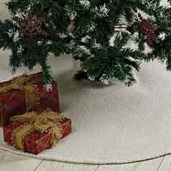 Nowell Creme 48 inch Tree Skirt