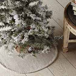 Nowell Creme Mini 21 inch Tree Skirt