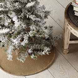 Nowell Natural Mini 21 inch Tree Skirt