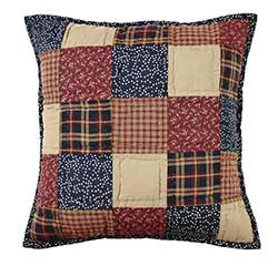 Old Glory Quilted Decorative Pillow Cover