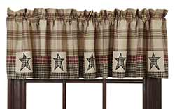 Plymouth Star Valance