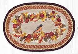 Autumn Oriole 20 x 30 inch Braided Rug