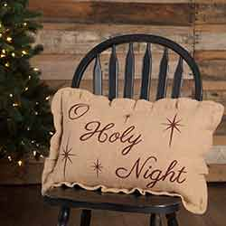 O Holy Night Pillow (14x22)