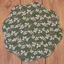 Charlotte Floral Round Placemats (Set of 6)