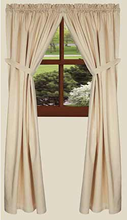Osenburg Cream Drapery Panels