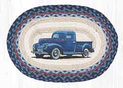 Blue Truck Braided Placemat