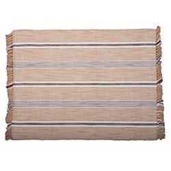Farmhouse Stripe Tan Placemat