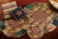 Patriotic Patch Tablemat - 20 inch