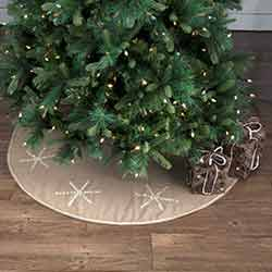 Pearlescent 48 inch Tree Skirt