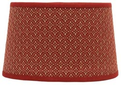 Philmont Jacquard Lamp Shade  - Drum