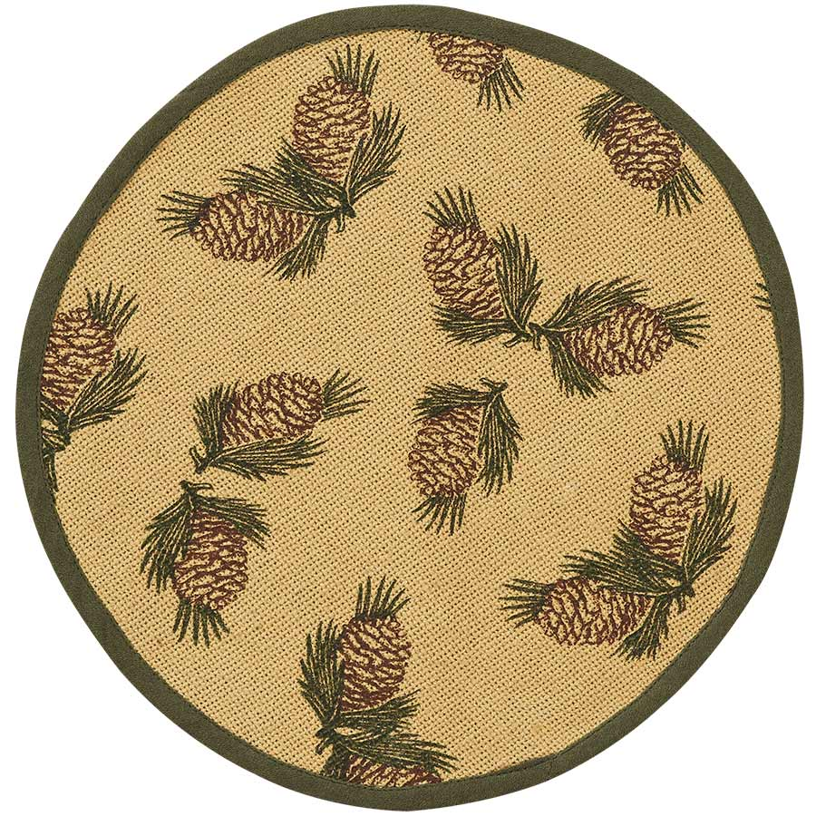 Pine Cone Tablemats (Set of 2)