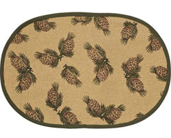 Pine Cone Placemats (Set of 2)