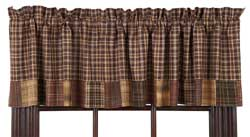 VHC Brands (Victorian Heart) Prescott Valance with Block Border