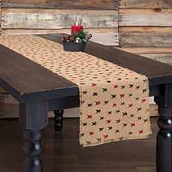 Primitive Star Jute 90 inch Table Runner