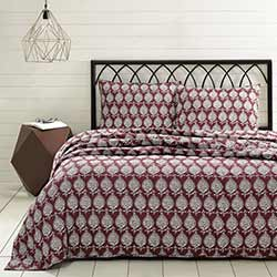 Priya Ruby Quilt Set (Multiple size options)