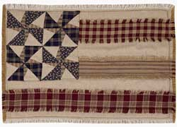 Providence Flag Pinwheel Placemats (Set of 2)