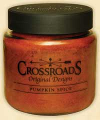 Crossroads Originals Pumpkin Spice Jar Candle - 16 ounce