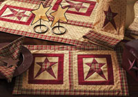 Quilted Star Tablerunner