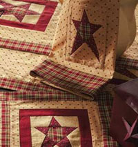 Quilted Star Dishtowel