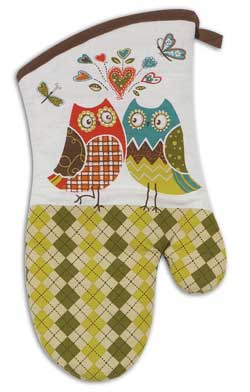 Owl Wonderful Oven Mitt