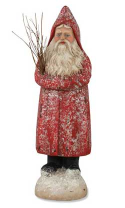 Red Belsnickle Santa - Small