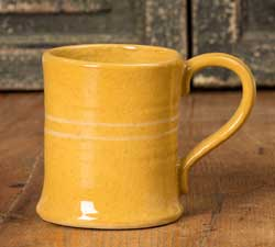 Yellowware Mugs (Set of FOUR)
