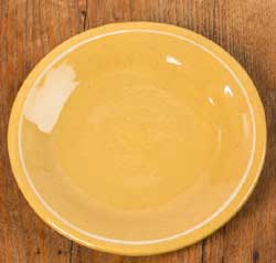 Yellowware Luncheon Plates (Set of FOUR)
