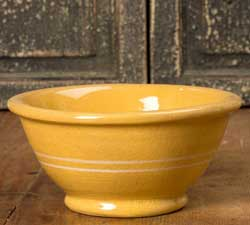 Yellowware Mixing/Serving Bowl - Small